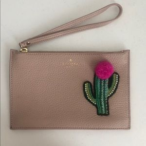 Kate Spade Cactus Wristlet